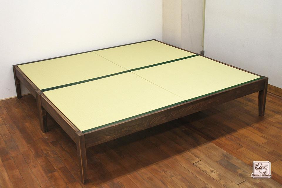 2台連結で204cm×210cmの2畳ベッド NO1503015