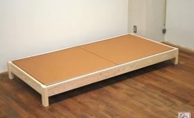 亜麻色の和紙畳のひのき畳ベッド NO1505003