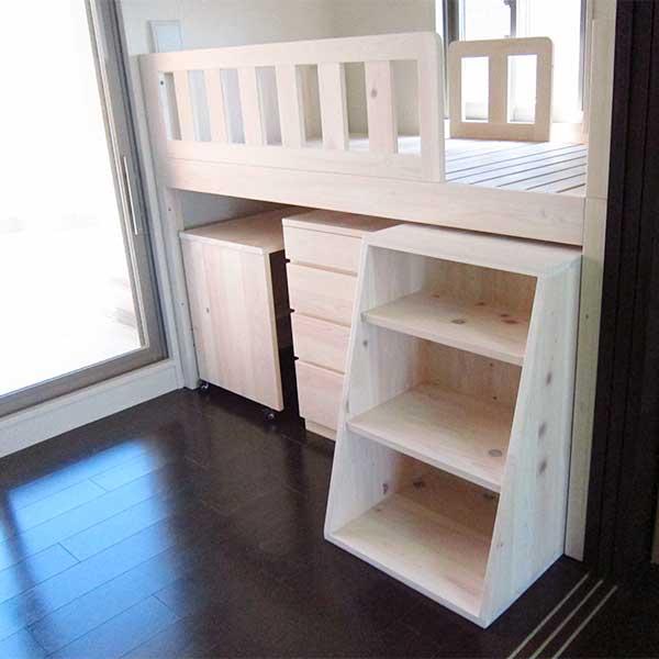 無垢ひのきシステムベッド(木製システムベッド)NO1302024