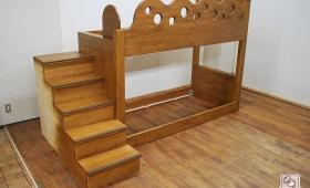知床プリンスホテルにデザインの可愛い二段ベッド納品 NO1601046