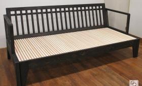 無垢ひのき幅120センチに広がるソファーベッド NO1602016