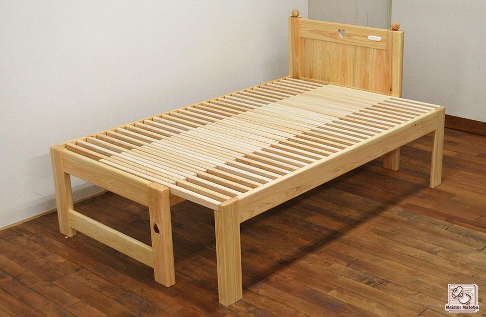 セミダブル120cmに広がるセミシングルベッド NO1604037