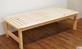ひのきへり(板の間)付きベッド 幅94cm NO1610047
