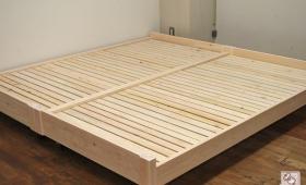 ひのきオーダーローベッド 寝台高さ22cm NO1611016