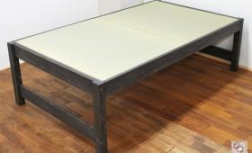寝台高さ62cm セミダブルのミドル畳ベッド NO1612010
