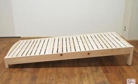 寝台部分が傾斜しているベッド NO1705008
