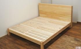 幅181cmキングサイズの大きなひのきベッド NO1705044