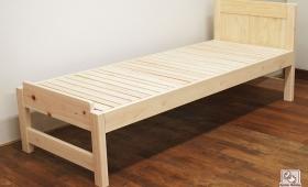 ヘッド角タイプのオーダー仕様のベッド NO1705055