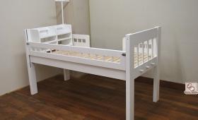 ひのき訓練ベッド 真っ白仕上げ NO1706002