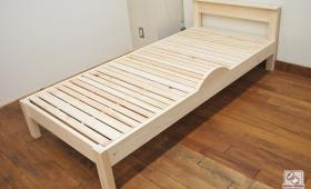 ちょっと置ける板付ひのきベッド NO1707029